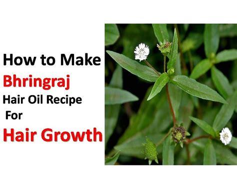 Hair Oil  How To Make Bhringraj Hair Oil Recipe For Hair