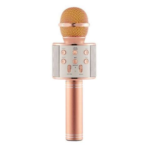 Best of all, it's simple to use, without much setup required. WS858 Bluetooth Wireless Karaoke Handheld Microphone USB KTV Player Bluetooth Mic Speaker Record ...