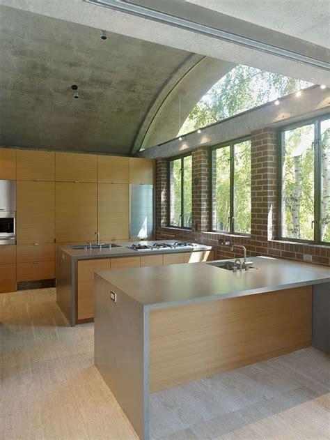 comptoir ciment cuisine 10 comptoirs en ciment pour créer un point focal dans une déco minimaliste bricobistro