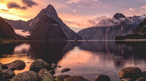 640x960 Milford Sound Sunset New Zealand Iphone 4, Iphone 4s Hd 4k Wallpapers, Images Iphone Trade In How To Delete Videos From Lock Photos On Much Are 5c Imei New Release Screenshot 5s Apple 6 Plus