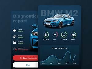 Logiciel Diagnostic Bmw Gratuit : bmw dashboard and diagnostics mobile app design dise o ~ Nature-et-papiers.com Idées de Décoration