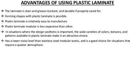 Laminated Plastics