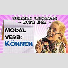 German Lesson 19  The Modal Verb Können Youtube