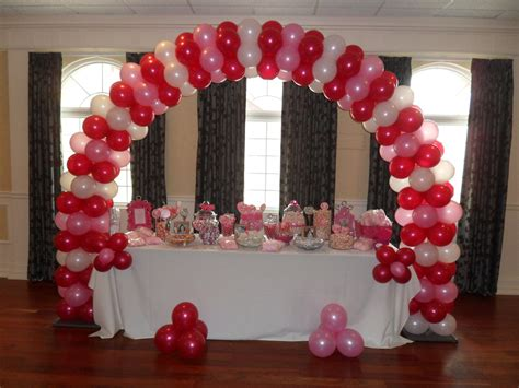 pink and white balloon decorations magenta pink and white decorations by teresa