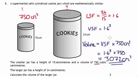 N5 Lesson Volume Scale Factor Youtube