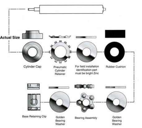 steelcase bearing kit hub liner