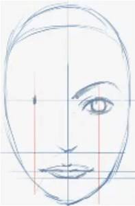 How to Draw Female Faces in Correct Proportions with Easy ...