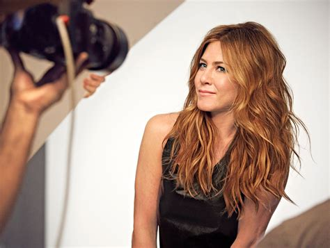 Jennifer Aniston Hair Interview
