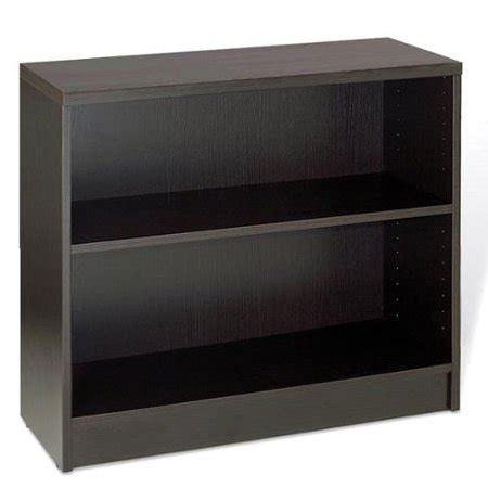 Low Black Bookcase by Jesper Office Low Espresso Bookcase Walmart