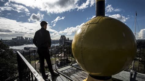 The city, as well as the blue mountains, central coast. Time stands still at Sydney Observatory due to virus lockdown