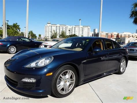 porsche panamera 2015 blue 2011 porsche panamera v6 in dark blue metallic 014278