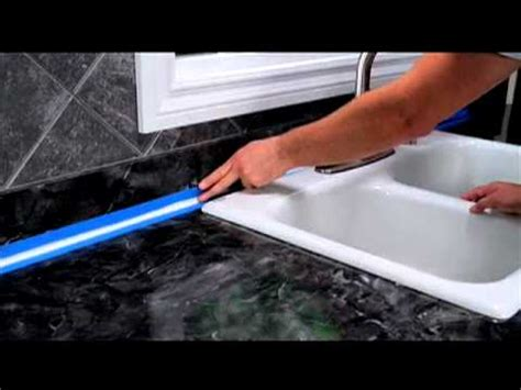 undermount sink how to seal around a kitchen backsplash