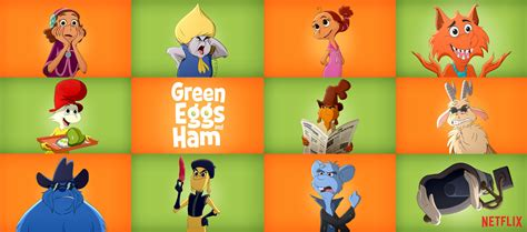 Netflix Has An All-star Cast For 'green Eggs And Ham