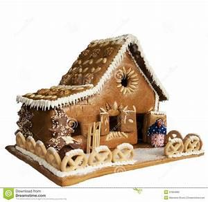 Gateau En Forme De Maison : forme la maison de g teau photographie stock image 37064682 ~ Nature-et-papiers.com Idées de Décoration