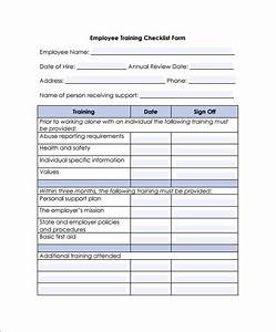 training checklist template 7 download documents in pdf With workshop planning checklist template