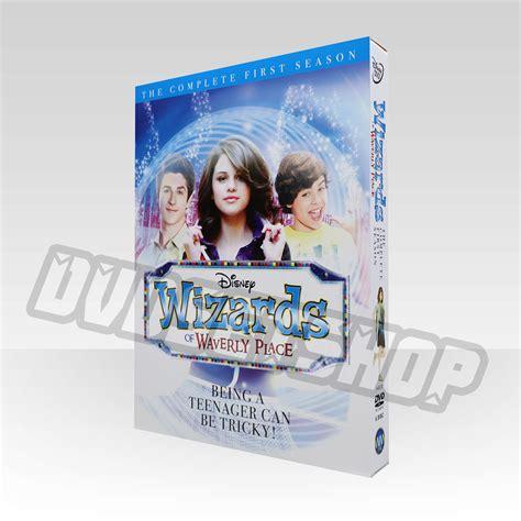 wizards  waverly place season  dvd boxset