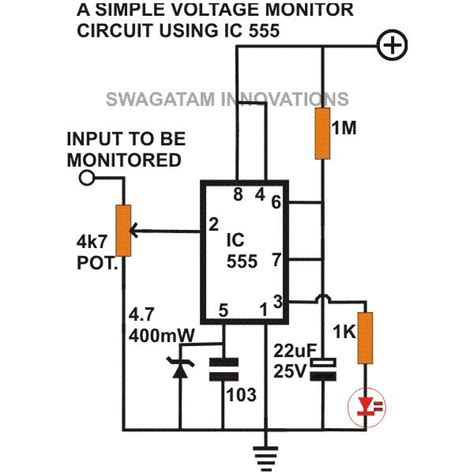 simple 555 circuits explained 555 timer circuit 555 electrical pulse generator voltage monitor