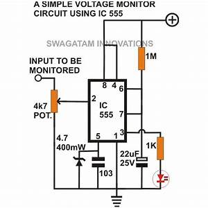 Simple 555 Circuits Explained  555 Timer Circuit  555 Electrical Pulse Generator  U0026 Voltage Monitor