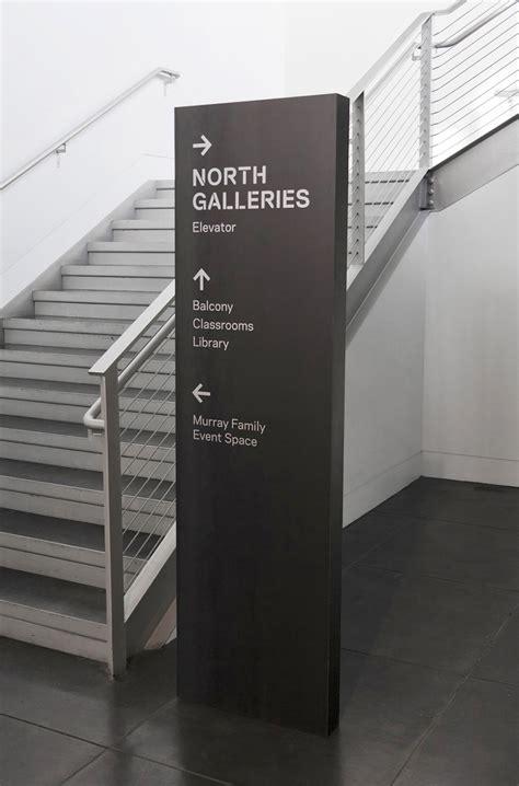 tacoma art museum signage  wayfinding  studio