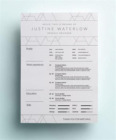 15010 clean simple resume clean simple resume on behance