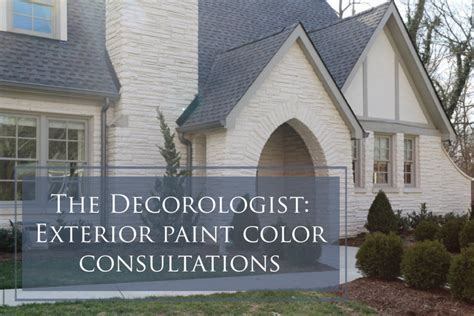 exterior paint color another thing to consider the decorologist