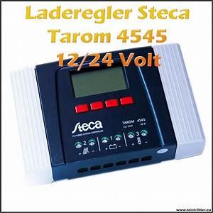 Leistung Watt Berechnen : solar laderegler 12v steca 45a tarom 4545 ~ Themetempest.com Abrechnung
