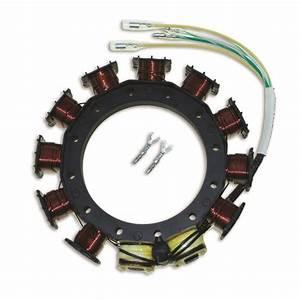 Cdi Stator For Mercury 9 Amp Cdm 2 3 4 Cyl 40