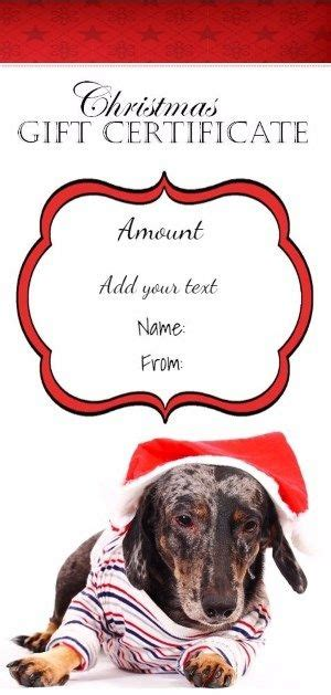 christmas printable   picture   cute dog wearing