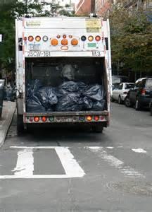 New York Garbage Trash Truck