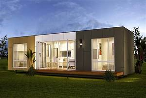 Prefab storage container homes in modern mad home interior for Container home design ideas