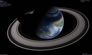 Philosophy Monkey: If Earth Had Rings Like Saturn