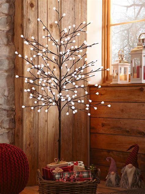 unique pre lit twig tree ideas  pinterest twig tree pre lit xmas trees  white baubles