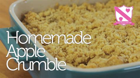 easy apple recipes homemade apple crumble recipe dishmaps