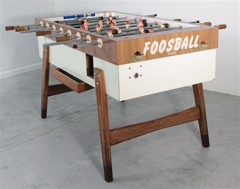Vintage Foosball Table Made in Germany - Play The Room ...