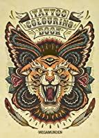 tattoo colouring book  megamunden