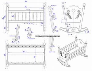 Rocking baby cradle plan