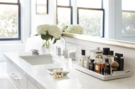 innovative perfume tray  bathroom transitional