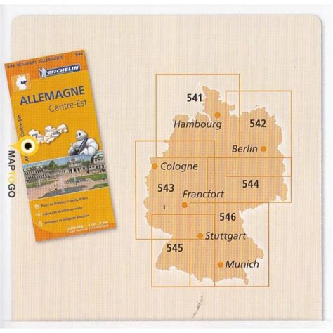Carte De Sud Ouest Michelin by Carte Routi 232 Re Allemagne Sud Ouest Au 1 300 000 Michelin