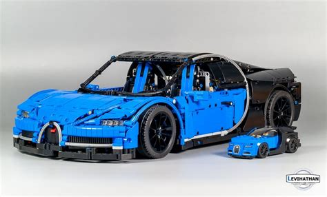 I wanted to see how this huge car. Lego Technic Bugatti Chiron | i-bricks.ru