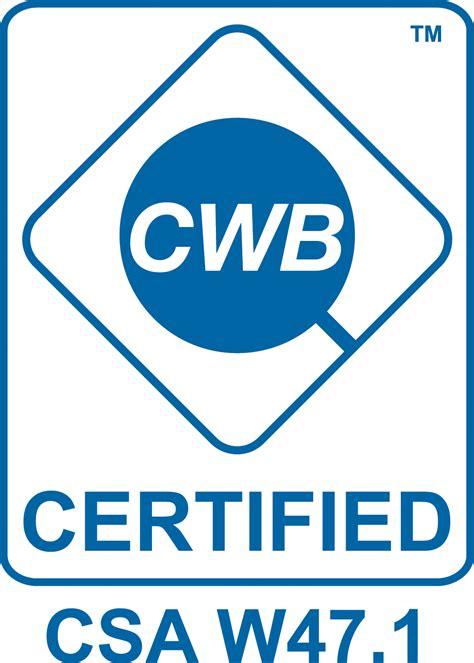 bureau certification canadian welding bureau cwb certified mainland machinery