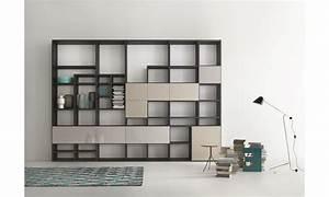 Bibliothèque Design Meuble : biblioth que design mobilier lema ~ Voncanada.com Idées de Décoration