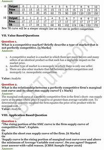 Ncert Solutions For Class 12 Micro Economics Chapter 10