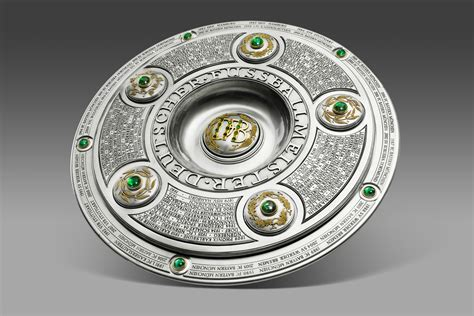 Bundesliga season, four clubs were relegated from the 2. The German soccer league trophy looks like something out of Game of Thrones : pics