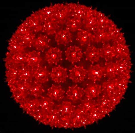 red 10 quot starlight sphere 150 light christmas ball
