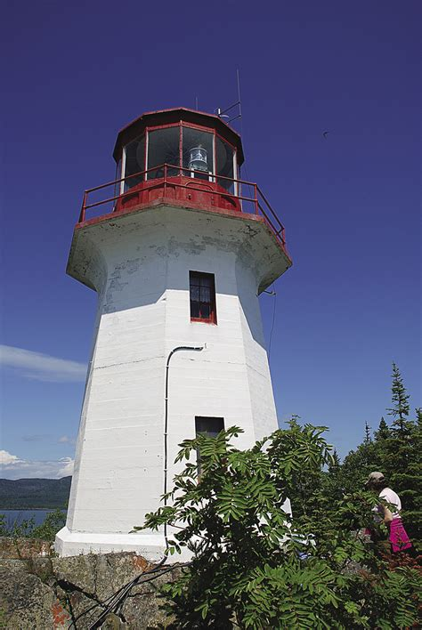 lighthouse adventuring  lake superiors canadian north