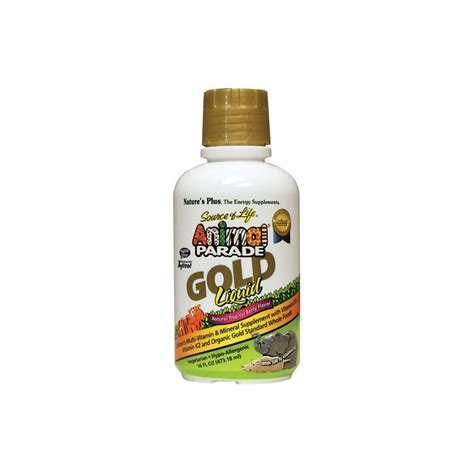animal parade gold liquid multivitamin mineral  fl oz