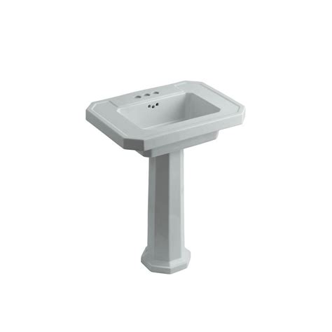 mold in bathroom sink overflow drain kohler kathryn ceramic pedestal combo bathroom sink in ice
