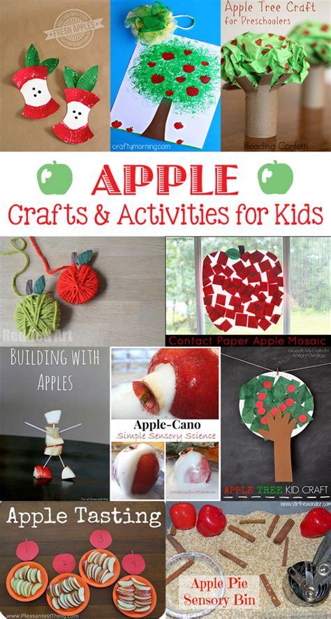 autumn apple craft ideas  kids roundup  inspired