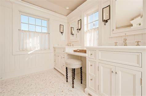 Vanity, Beadboard Backsplash, Bathroom Beadboard, White