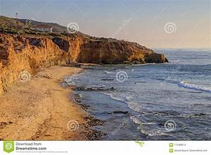 Landscape, Of, The, Southern, California, Coast, Stock, Image